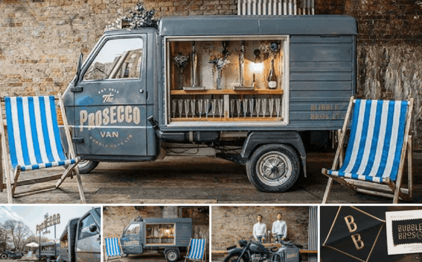 The Prosecco Van by the Bubble Bros - South East